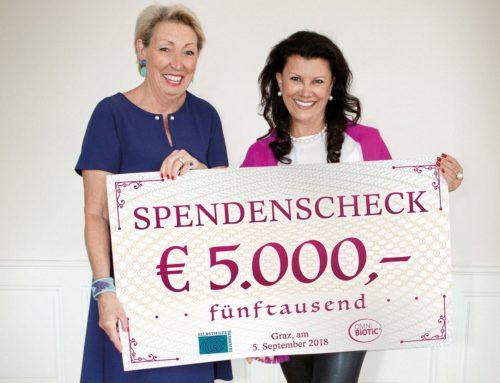 """Institut AllergoSan: 5.000 Euro für """"Selbsthilfe Darmkrebs"""""""
